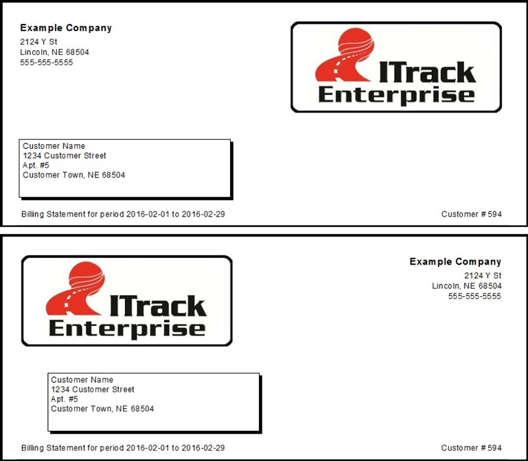 ITrack Enterprise Report